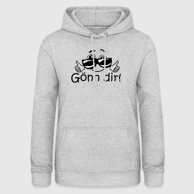 Treat yourself - cool slogan for all occasions - Women's Hoodie