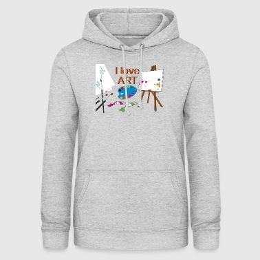 to paint - Women's Hoodie