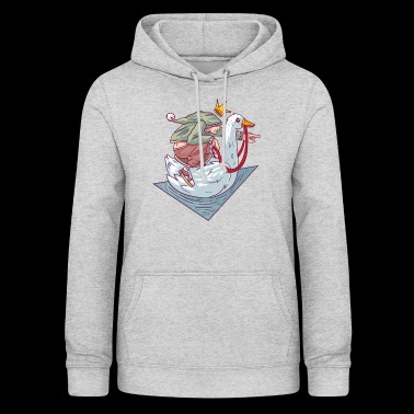 Brothers Grimm The golden goose fairy tale - Women's Hoodie