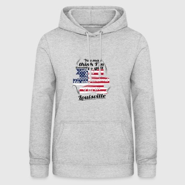 THERAPY HOLIDAY AMERICA USA TRAVEL Louisville - Women's Hoodie