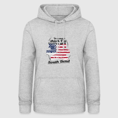 THERAPY HOLIDAY AMERICA USA TRAVEL South Bend - Women's Hoodie