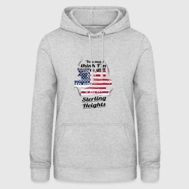 TERAPI FERIE TRAVEL Amerika USA Sterling Heights - Dame hoodie