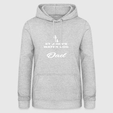 DAD FATHER PAPAL DOG ​​DOG ST JOHN S WATER DOG - Women's Hoodie