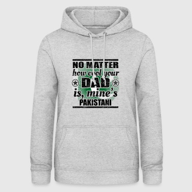 no matter dad cool father gift Pakistan png - Women's Hoodie