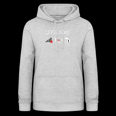 mobile phone freak - Women's Hoodie