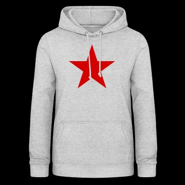 Rode ster, rode ster - Vrouwen hoodie