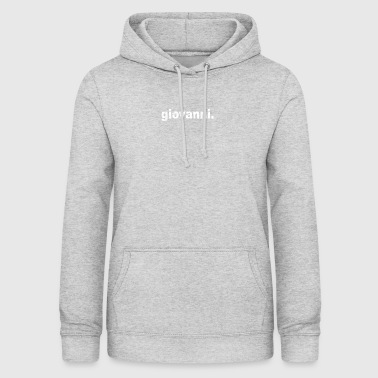 Gift grunge style first name giovanni - Women's Hoodie