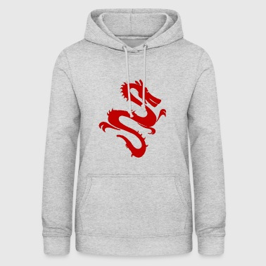 Red Chinese Dragon. Gift Idea - Women's Hoodie