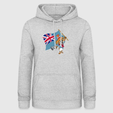 Fiji fan dog - Women's Hoodie