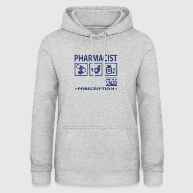 Pharmacist pills tablets medicine doctor emergency physician - Women's Hoodie