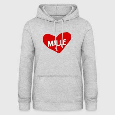 A heart for malls! - Women's Hoodie
