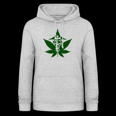 Caduceus in Grass - Women's Hoodie