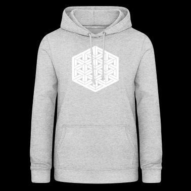 Impossible grid - Women's Hoodie