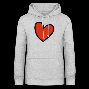 crooked heart - Women's Hoodie