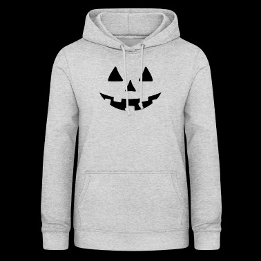 Crazy Pumpkin Halloween Costume -JACK O LATER STYL - Dame hoodie