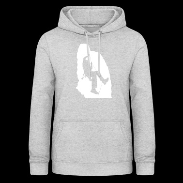 Climbing in the cave - Women's Hoodie