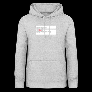 His Majesty the Grandpa gift - Women's Hoodie