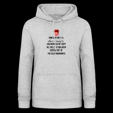 When a vampire has been in a bakery? - Women's Hoodie