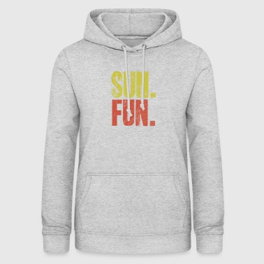 Sun fun summer gift idea heat heat - Women's Hoodie