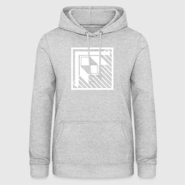 Abstract rectangle square art 5 - Women's Hoodie
