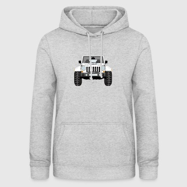 Jeep white - Women's Hoodie