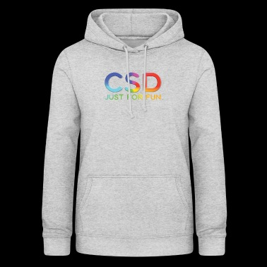 CSD Just for Fun Rainbow Parade - Women's Hoodie