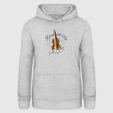 Rockabilly Double Bass - Women's Hoodie