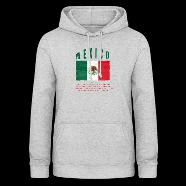 Mexican Flag Bandera Mexico - Women's Hoodie