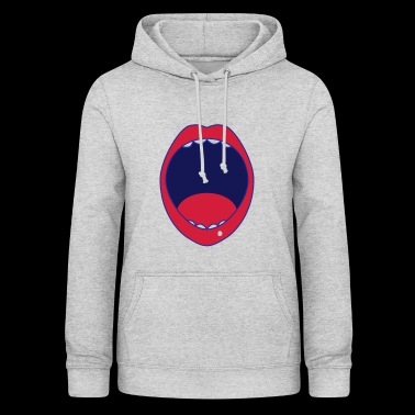 mouth - Women's Hoodie