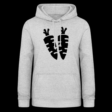 Carrot carrots carrot carrots vegan vegan vegetables - Women's Hoodie