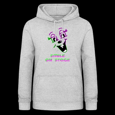 Smile on stage - Women's Hoodie