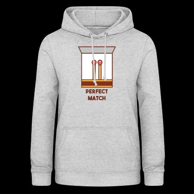 Perfect match - Women's Hoodie