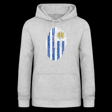 URUGUAY FINGERABPRESSION. SOUTH AMERICA SPANISH - Women's Hoodie