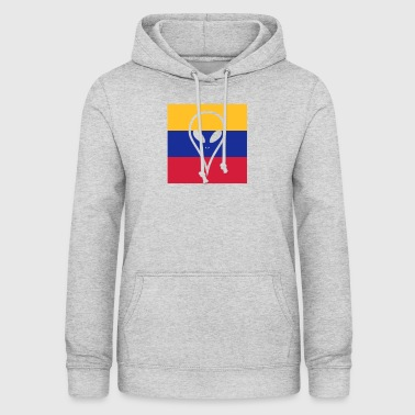 Ecuador country in South America Alien - Women's Hoodie