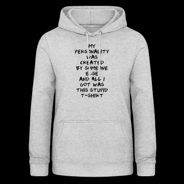 personality - Women's Hoodie