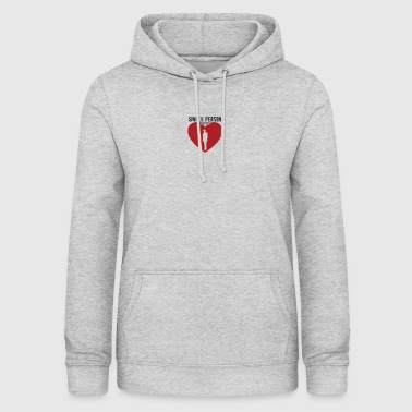 Single person - Women's Hoodie