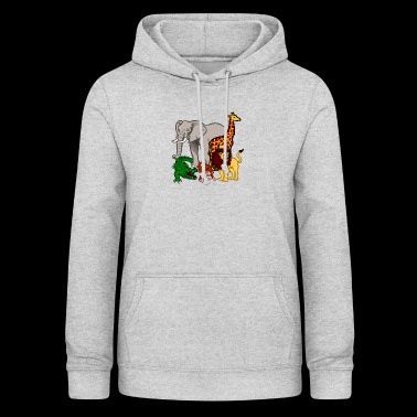 Safari animals - Women's Hoodie