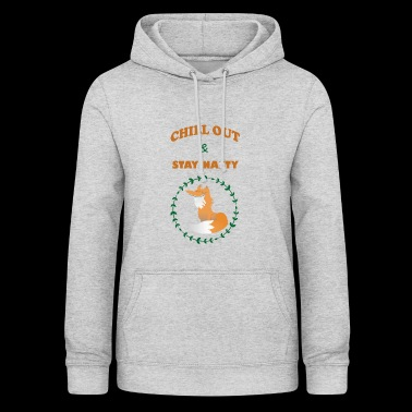 Chill out - Frauen Hoodie