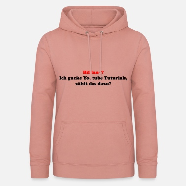 Éducation Culture L'éducation? - Sweat à capuche Femme