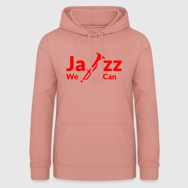 JAZZ WE CAN - rouge - Sweat à capuche Femme