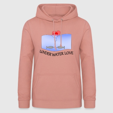 Under Water Under Water Love - Women's Hoodie