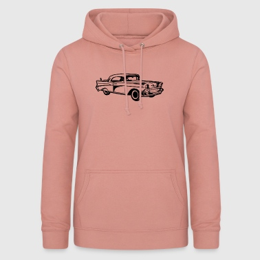 Chevy Chevy Bel Air / Oldtimer 01_black - Women's Hoodie