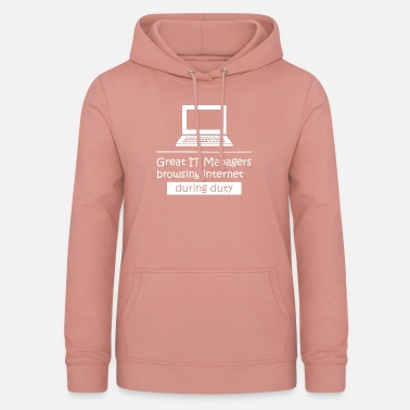 Humour Informatique Responsable scientifique geek ballot informatique informatique informatique - Sweat à capuche Femme