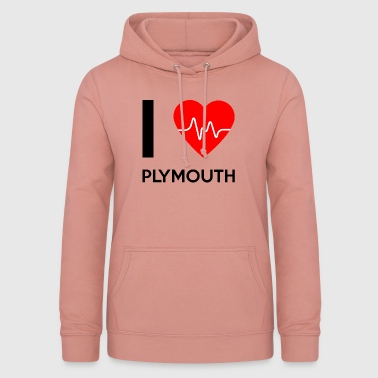 I Love Plymouth - I love Plymouth - Women's Hoodie