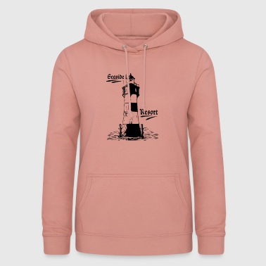 Seaside resort lighthouse coasts collection - Women's Hoodie