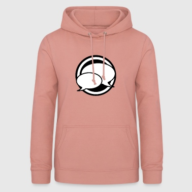 Writable talk icon - Women's Hoodie