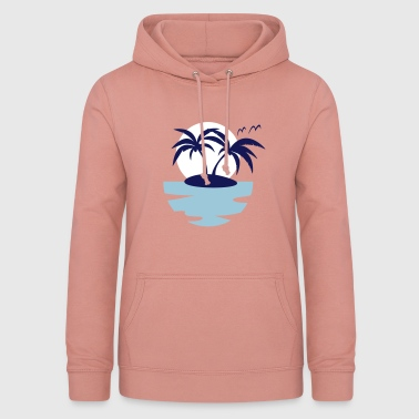 Island, Sun and Sea - Women's Hoodie