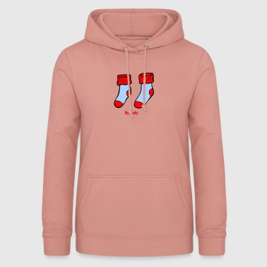 Socks red gift gift idea - Women's Hoodie