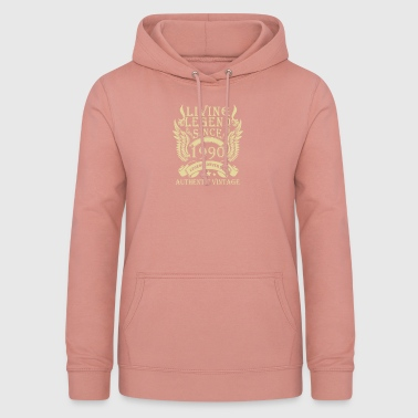 Living Legends Since 1990 Authentic Vintage - Women's Hoodie