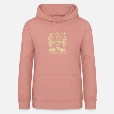 Since Living Legends Since 1990 Authentic Vintage - Women's Hoodie